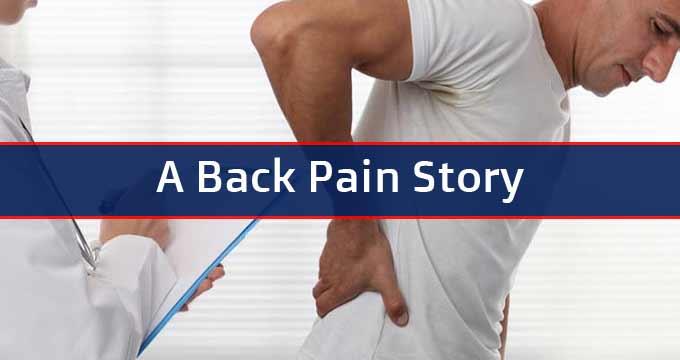 A Back Pain Story