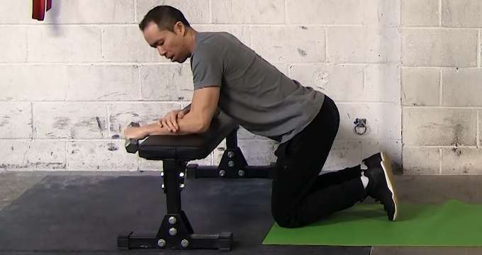 what exercises can i do with tennis elbow