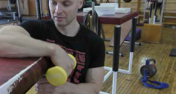 Wrist Extension on Forearm