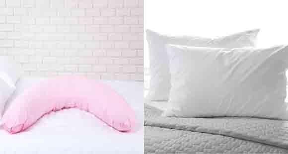 Body Pillows versus Down Pillows